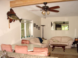 Winter Harbour Accommodations Fishing Getaway Living Space
